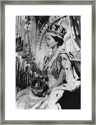 British Royalty. Queen Elizabeth II Framed Print