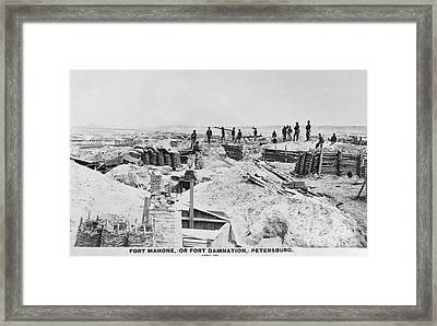 Civil War: Petersburg Framed Print by Granger