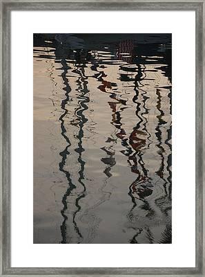 Port Huron To Mackinac Race Framed Print