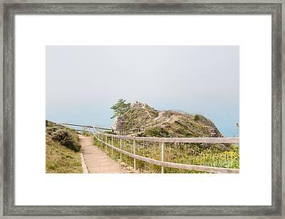 Sausalito Framed Print