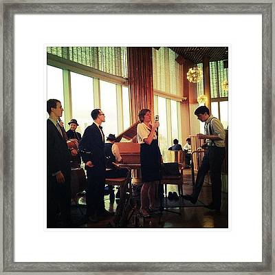 The Hot Sardines Framed Print