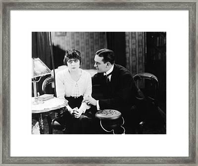 Theda Bara (1885-1955) Framed Print by Granger
