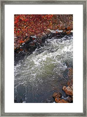 Thornbury Fish Lock Framed Print by Cyryn Fyrcyd