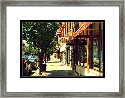 119th Street Framed Print