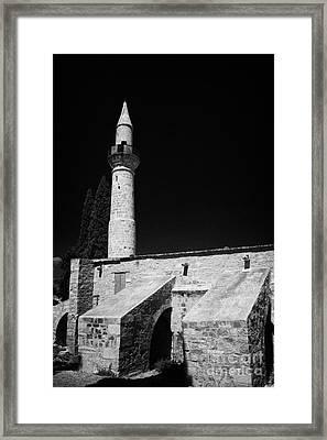 11th Century Touzla Mosque In Larnaca Republic Of Cyprus Framed Print