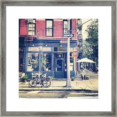 11th Street Framed Print