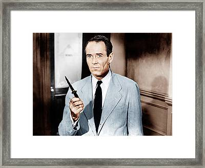 12 Angry Men, Aka Twelve Angry Men Framed Print by Everett