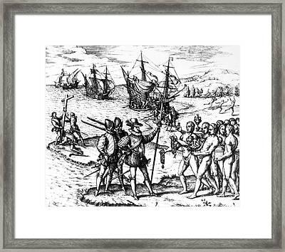 Christopher Columbus Framed Print