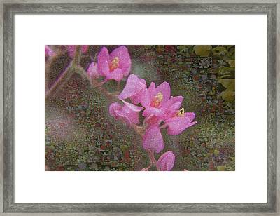 In Bloom Collections Framed Print by Chye Kwang Yan