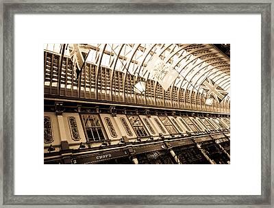 Leadenhall Market London Framed Print by David Pyatt