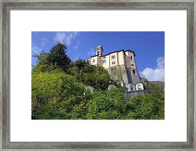 Madonna Del Sasso - Locarno Framed Print