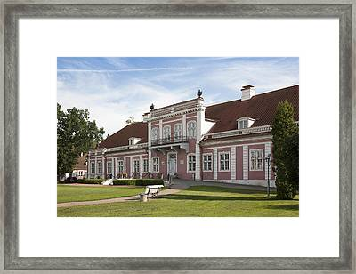 Sagadi Manor In Estonia Framed Print by Jaak Nilson