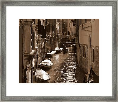 Venice Framed Print by Barbara Walsh