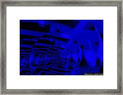 Twirling Framed Print by Mihaela Stancu