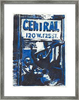 125th Street Framed Print