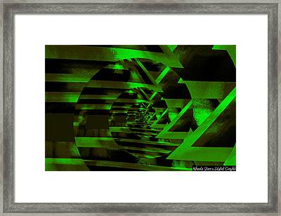 Twirling Framed Print by Mihaela Stancu