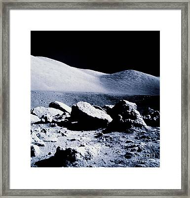 Apollo Mission 17 Framed Print by Nasa