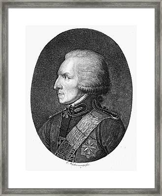 Benjamin Thompson Framed Print by Granger