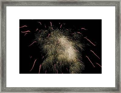 Fireworks Framed Print by Patrick M Lynch