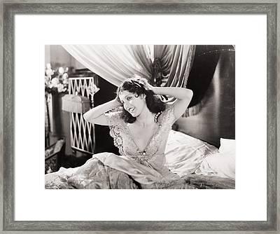 Silent Still: Bedroom Framed Print by Granger