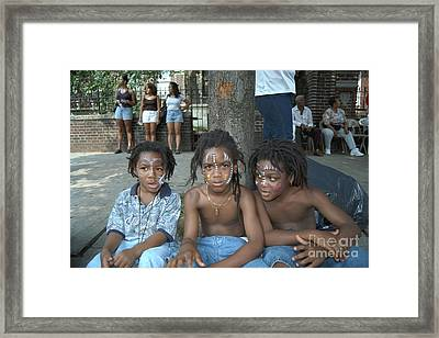 West Indian Day Parade Brooklyn Ny Framed Print