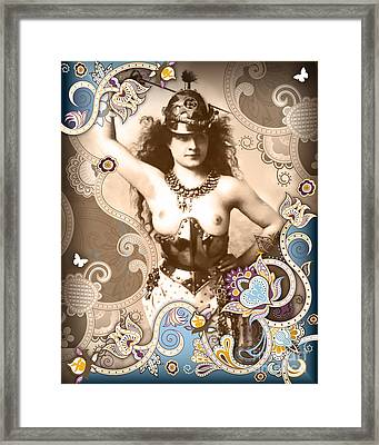 Goddess Framed Print by Chris Andruskiewicz