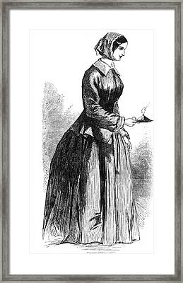 Florence Nightingale, English Nurse Framed Print