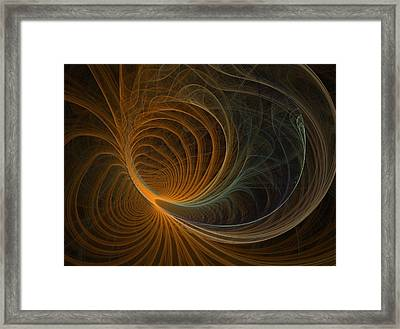 Flower Framed Print by Michele Caporaso
