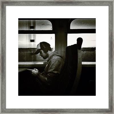 #instago #instahub #instagood Framed Print