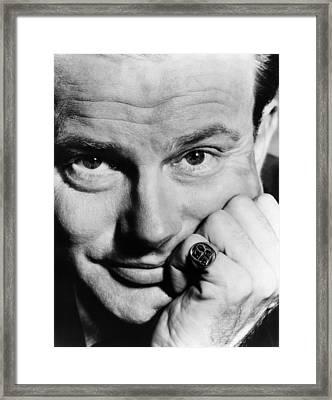 Jack Paar 1918-2004, American Framed Print by Everett