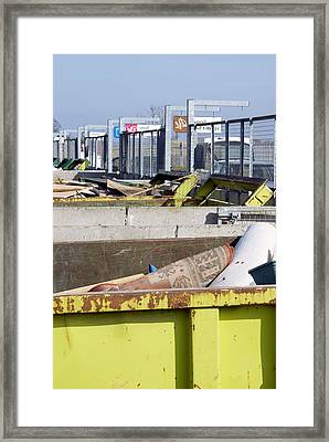 Recycling Centre Framed Print