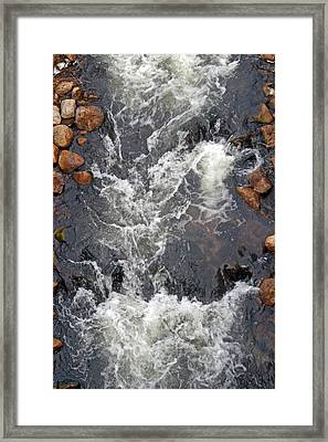Thornbury Fish Lock Framed Print by Cyryn Fyrcyd