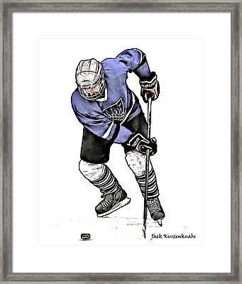 144 Framed Print by Jack K