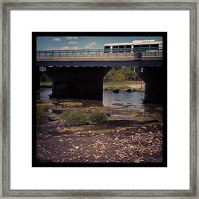#snow #photography #funny #art #scenery Framed Print