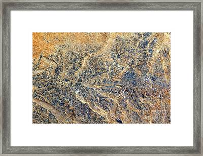 Natures Rock Art Framed Print by Jack R Brock