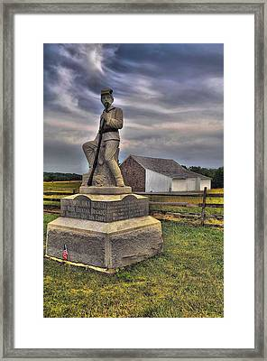 149th Pennsylvania Infantry Framed Print by Dave Sandt
