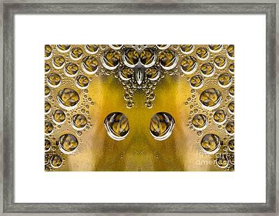 Drops Framed Print by Odon Czintos
