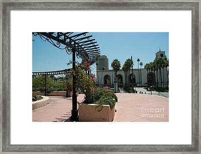 El Pueblo De Los Angeles Framed Print