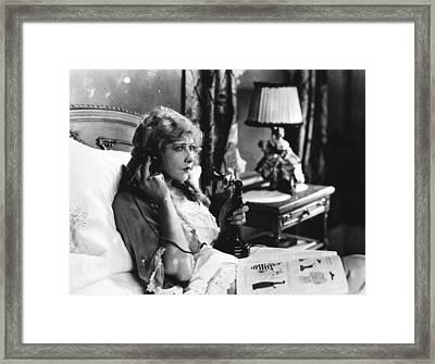 Film Still: Telephones Framed Print by Granger