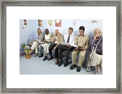 General Practice Waiting Room Framed Print by Adam Gault