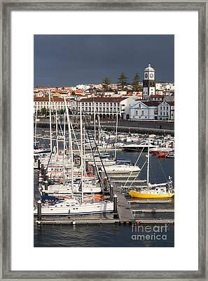 Ponta Delgada - Azores Framed Print by Gaspar Avila
