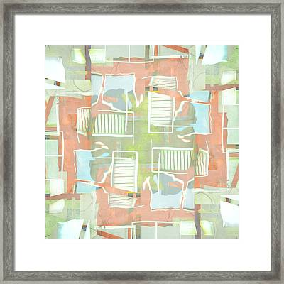 Urban Abstract San Diego Framed Print by Carol Leigh