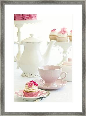 Afternoon Tea Framed Print by Ruth Black