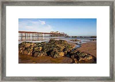 Hastings Pier Framed Print by Dawn OConnor