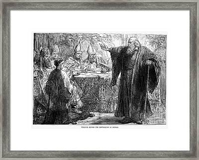John Wycliffe (1320?-1384) Framed Print by Granger