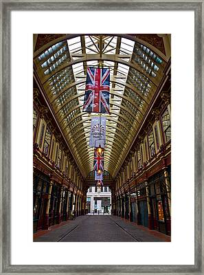 Leadenhall Market London Framed Print by David Pyatt