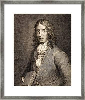 1698 William Dampier Pirate Naturalist Framed Print by Paul D Stewart