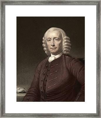1767 John Harrison & Marine Timekeeper H4 Framed Print by Paul D Stewart