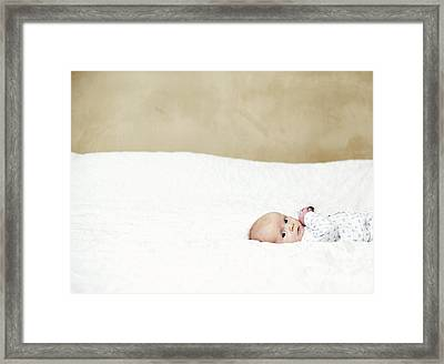 Baby Boy Framed Print