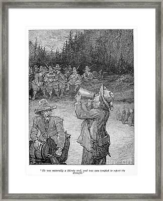 Irving: Rip Van Winkle Framed Print by Granger